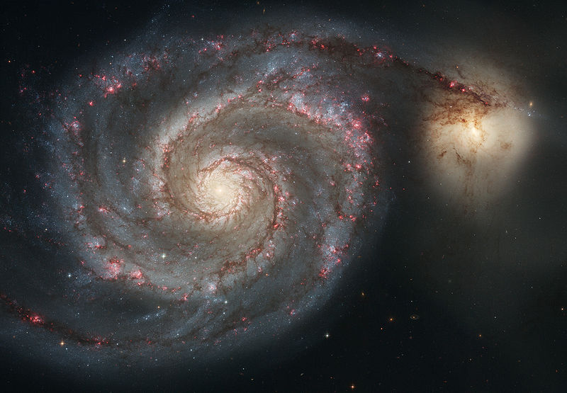 Image of the Whirlpool-Galaxy