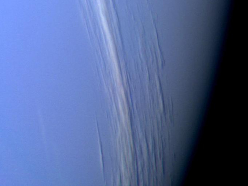 Saturn - Sun Reflection in Titans Seas
